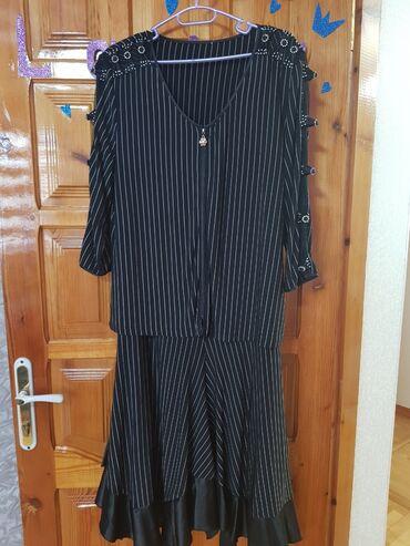 Костюм ( блузка и юбка) 52-54р 800с