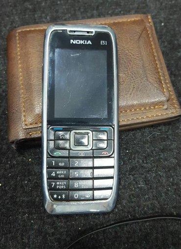 Bakı şəhərində Nokia e51.