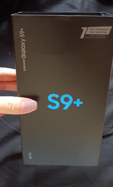Новый Samsung Galaxy S9 Plus 64 ГБ Черный в Бишкек