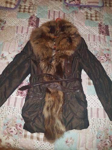 Fenomenalna jakna malo nosena sa pravim krznom - Belgrade