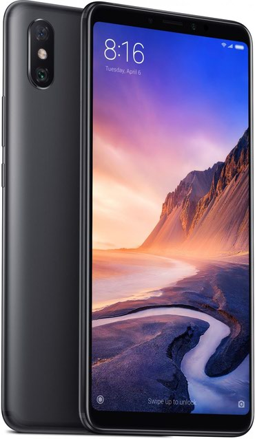 xiaomi-mi-max-2 в Азербайджан: Xiaomi Mi Max 3 64 ГБ Черный