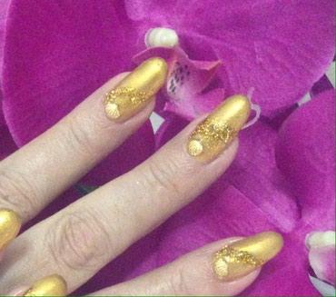 Наращивание ногтей!!! Шеллак(гель лак), в Бишкек