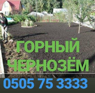 чернозем в Кыргызстан: Чернозем чернозём черноземчернозем горная плодородная землядля газона