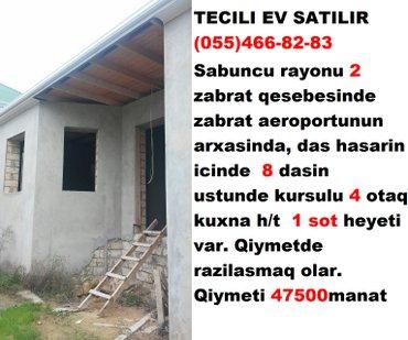 Bakı şəhərində tecili ev satilir  elaqe saxlayin