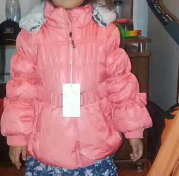 платье в Кыргызстан: Новые куртки для девочек. 4-5лет   по акции