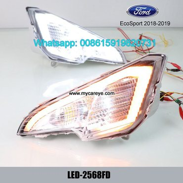Ford EcoSport LED DRL day time running lights driving daylight in Tīkapur