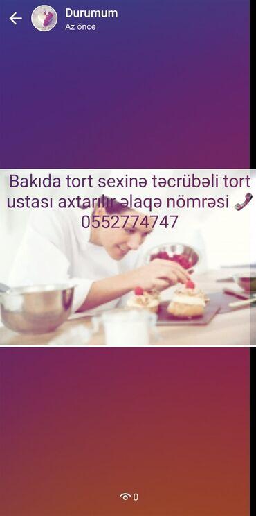 bakida sutkaliq evler - Azərbaycan: Bakida tecrubeli tort ustasi axtarilir