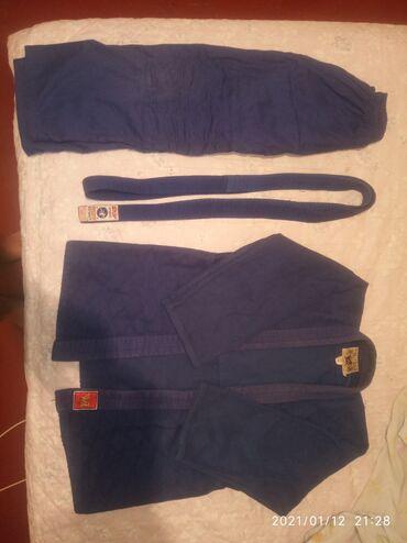 Продаю кимоно—дзюдоРазмер — 42-45Пояс в подарок !Бесплатная доставка