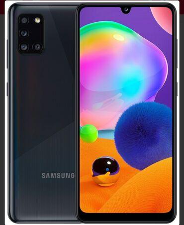 Samsung Qalaxy A31 Daxilli yaddaş :64 gb Ram:4