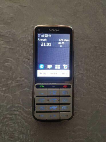 телефон флай ff246 в Азербайджан: Nokia C3-01Telefon ela veziyyetdedi. Zaryadka yaxsi saxlayir. Ustunde