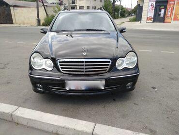 черный mercedes benz в Кыргызстан: Mercedes-Benz C-Class 2 л. 2007 | 230000 км