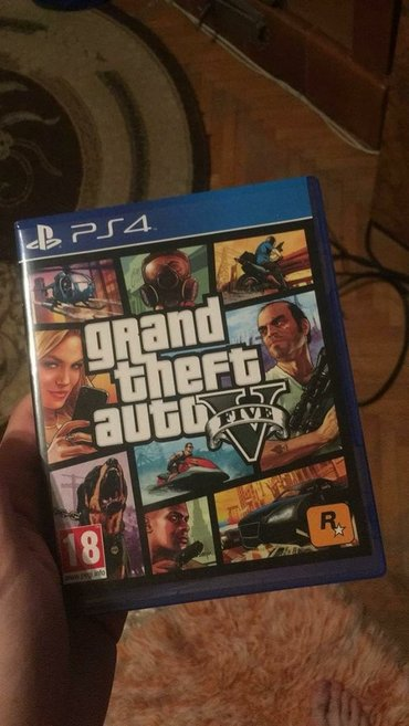 Original GTA 5 za PS4. - Borca
