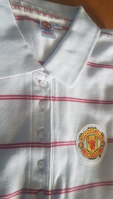 Manchester city - Srbija: MANCHESTER united original majica za decake. Oko 12 godina. Sa