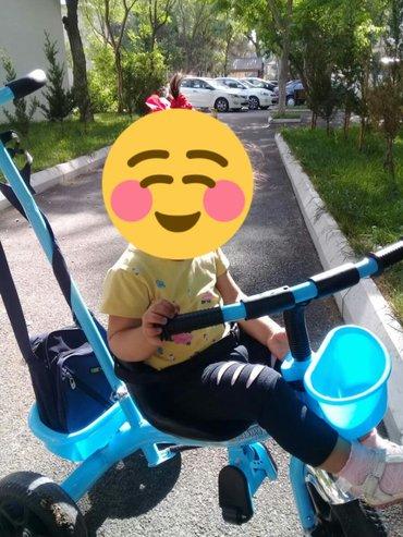 3 təkərli uşaq velosipedi 1-5 yaş aralığı3 ay işlənib Qi mei uşaq