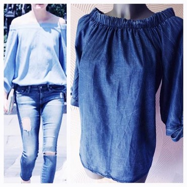 NOVA Off the Shoulder Denim - Pancevo