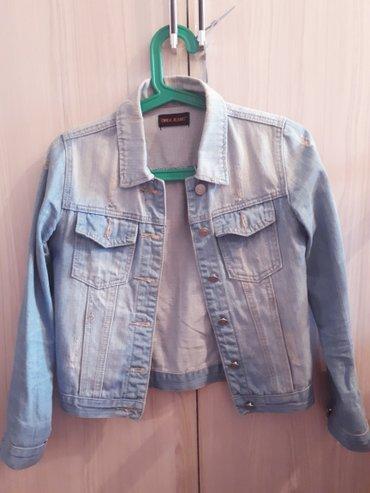 детская джинсовая куртка в Кыргызстан: Джинсовая куртка 42размер
