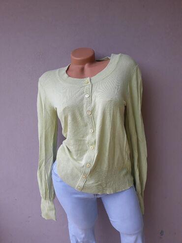 Košulje i bluze | Prokuplje: Žuta bluza na kopčanje bez oštećenja.  Velicina M