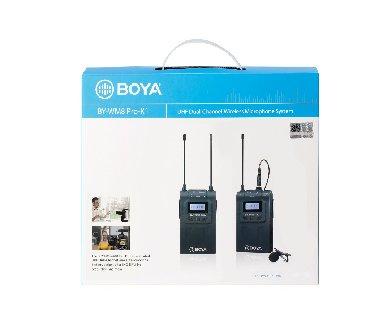 беспроводной-микрофон в Кыргызстан: BOYA BY-WM8 Pro - это усовершенствованная двухканальная УКВ