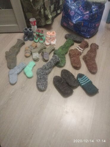 детские термо колготки в Кыргызстан: Муж,жен,носки детские носки пинетки взрослые следочки вязка