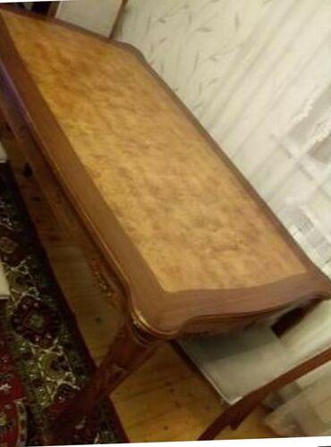 çarpayıya bitişik stol - Azərbaycan: Ela veziyyetde laminat deyil tek masa