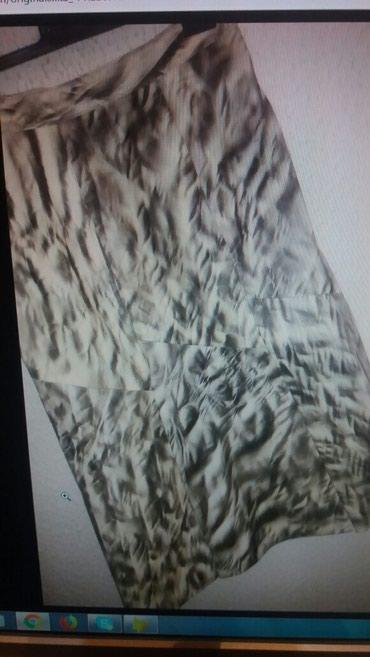 Suknja od prirodne koze - nova broj 40. Poluobom struka 39 cm bokovi - Paracin