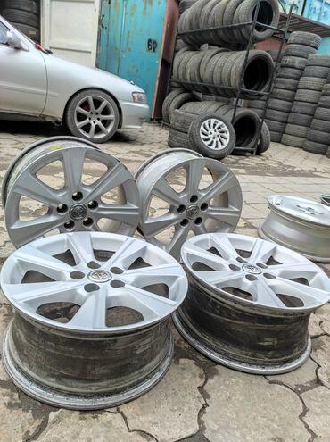 купить диски для машины в Кыргызстан: В продаже оригинальный диски ToyotaДиаметр R17Сверловка 5*114.3Ширина