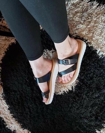 Ženska obuća | Zabalj: Preudobne papuce, mnooogo lagane, ne osete se na nozi, eko koza