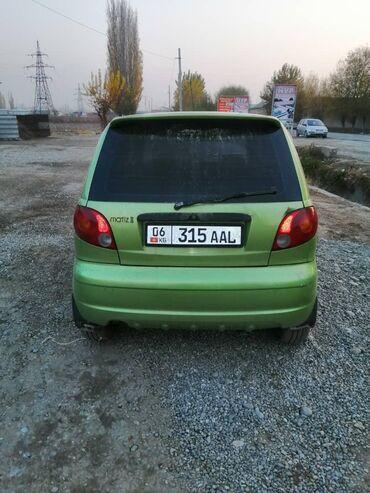 daewoo matiz 2 в Кыргызстан: Daewoo Matiz 0.8 л. 2001