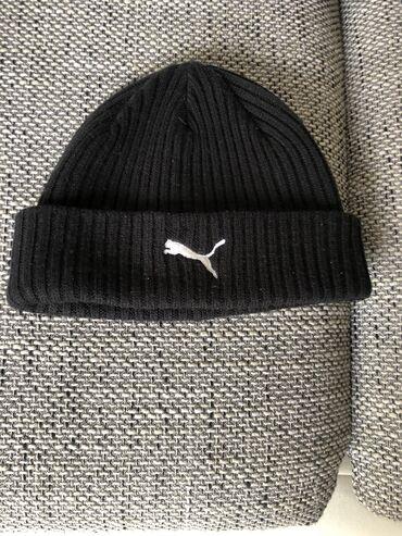 Zenska kapa - Srbija: Puma original, musko - zenska kapa, kao nova, kupljena u Londonu