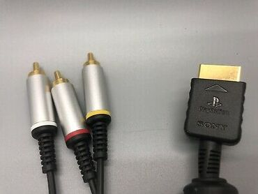 """PS2/PS3 üçün """"HD Sony AV"""" kabel     Playstation 2 v"""
