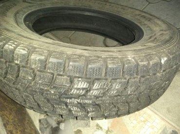 Зимние шины Dunlop (Япония)  размер 225/70 R16, ездили один сезон, сос in Бишкек