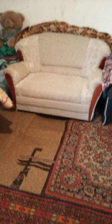 Продаю диван. 2 кресла и мал диванчик комплект состояние отличное