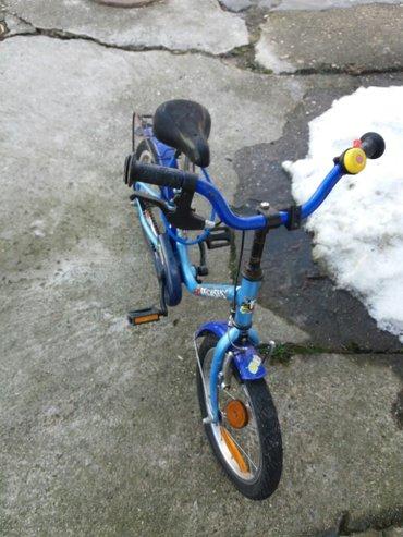 Prodajem decije biciklo za uzrast od 5 do 7 god korisceno ali je bas o - Beograd