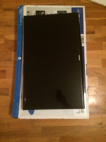 Bakı şəhərində Samsung led tv. Xarici görünüşündə və işləməsində qəti problemi yoxdu.