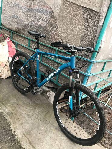 Велосипед Trinx m136 21 рама26 колёса Обвес shimanoВ хорошем
