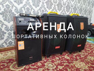 аренда автомойки бишкек в Кыргызстан: Аренда портативных колонок с радио микрофоном. ( колонки на