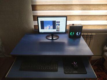 компьютеры рабочие в Кыргызстан: Продаю компьютер полный комплект4х ядерный можно для дома для игры для