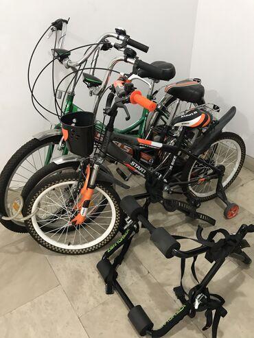 velosiped 16 dyuimov в Азербайджан: 3 Velosiped,1 Velosiped daşıyıcı(3'lü) Hamısı bir yerde satılır!