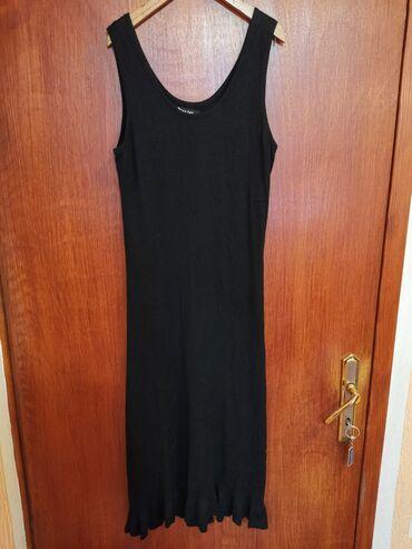 Haljina brz - Srbija: Predivna trikotazna crna haljina, kao nova. Odgovara velicini M/L