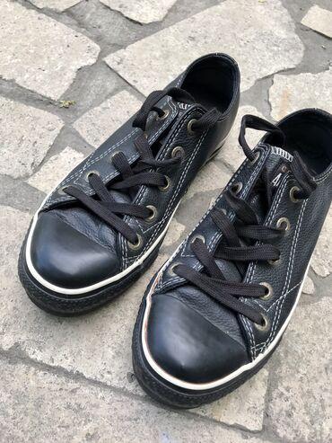 Женская обувь в Ош: Оригинал кожаные CONVERSE. Размер 35.5-36