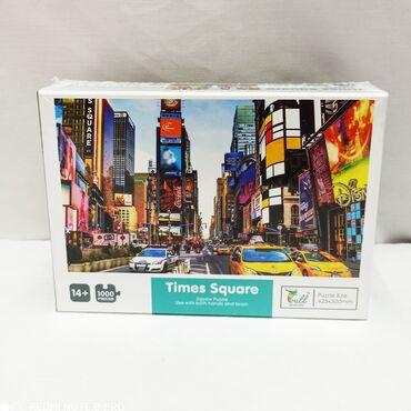 Пазл 1000 деталей Нью-Йорк Times Square - шикарная картинка с очень