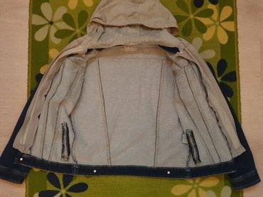 Teksas jakna za decaka kao nova nije izbledela velicina 16.Duzina - Ruma
