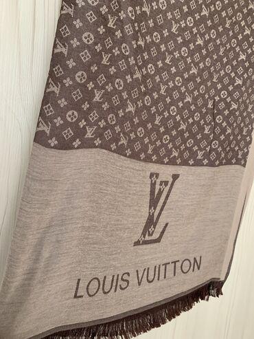 Шикарный шарф LV на осень