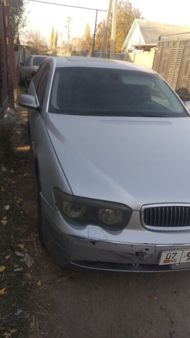 bmw m3 4 dct в Кыргызстан: BMW 7 series 4.4 л. 2004 | 200000 км