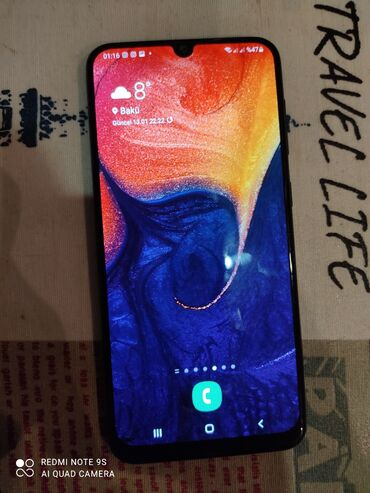 большая клетка для морской свинки в Азербайджан: Б/у Samsung A50 64 ГБ Синий