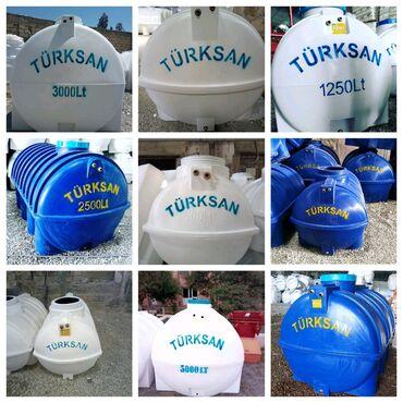 Ev və bağ üçün hər şey - Azərbaycan: Su Çəni! Su Ceni! Türksan şirkətinin polietilendən hazırlanmış oval