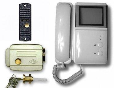 видеодомофон, продажа установка подключение домофонов, домофоны в Бишкек