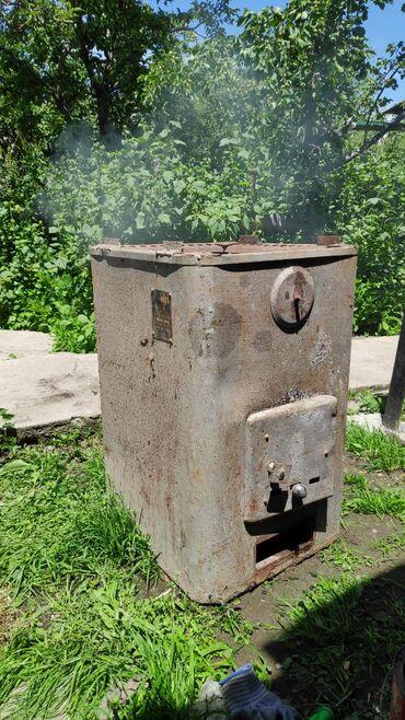 печка для бани в Кыргызстан: Печка для бани заводской. Находится в Караколе
