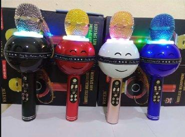 Huawei ets 878 - Srbija: Mikrofon karaoke bluetooth sa zvucnikom WS-878 mikrofonRasprodaja