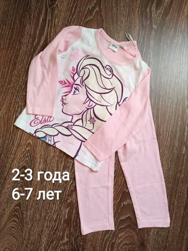 детская пижама для мальчика в Кыргызстан: Пижама детская для девочек (на рост от 100см до 122см). Товар из
